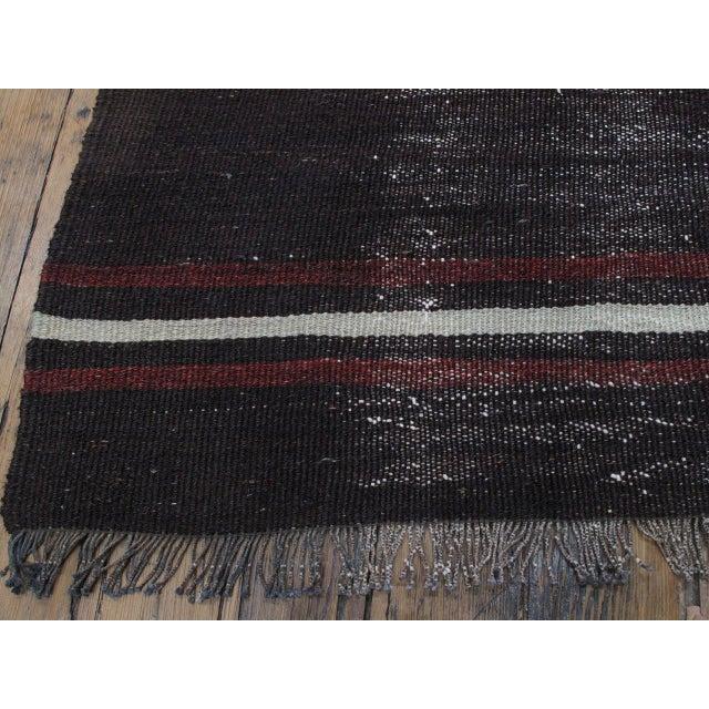 """Animal Skin Striped Kilim, """"Adil"""" For Sale - Image 7 of 10"""