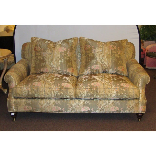 Edward Ferrell Signed Loveseats - A Pair - Image 4 of 4