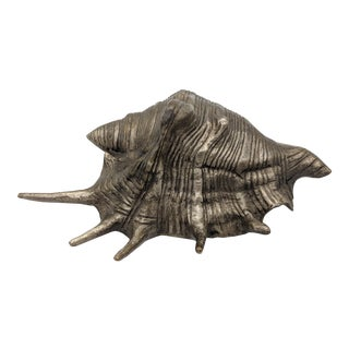 Metal Conch Seashell Figurine / Paper Weight For Sale