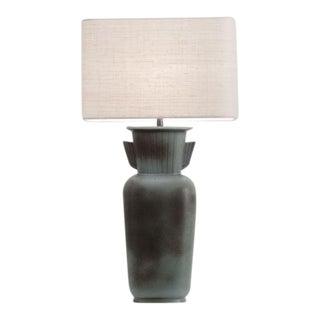 GUNNAR NYLUND Monumental Ceramic Lamp Rörstrand Studio Sweden, ca. 1960 For Sale