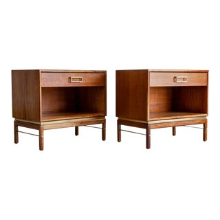 Mid Century Modern Drexel Suncoast Nightstands-A Pair For Sale