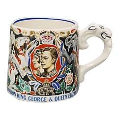 King George VI Coronation Mug For Sale
