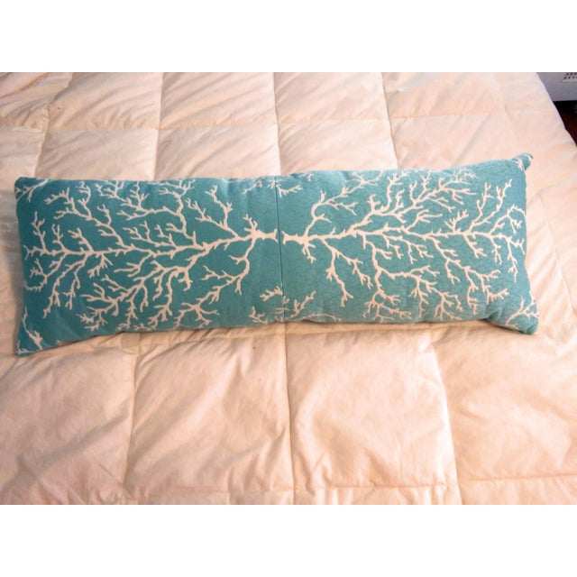 """Check the Toile and Coral!"" Pillows - Set of 4 - Image 4 of 7"