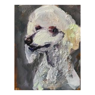 Contemporary Painted Portrait, Hello Ear For Sale