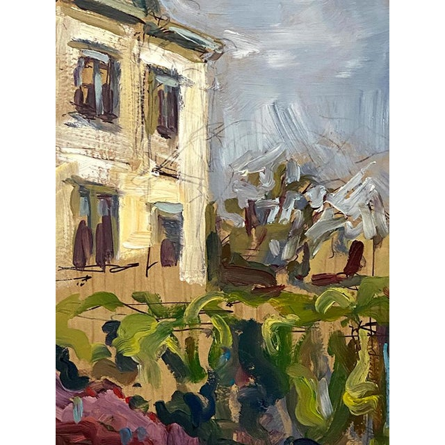 Abstract Expressionist Original Oil Painting by Rebecca Dvorak – Virginia Museum of Fine Arts, Robinson House For Sale In Richmond - Image 6 of 12