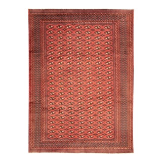 Hand-Knotted Tribal Afghan Rug For Sale