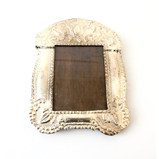 Colonial Style Silver Picture Frame - Image 4 of 8