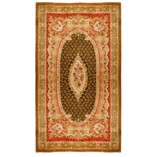 Exceptional Antique Axminster Carpet For Sale