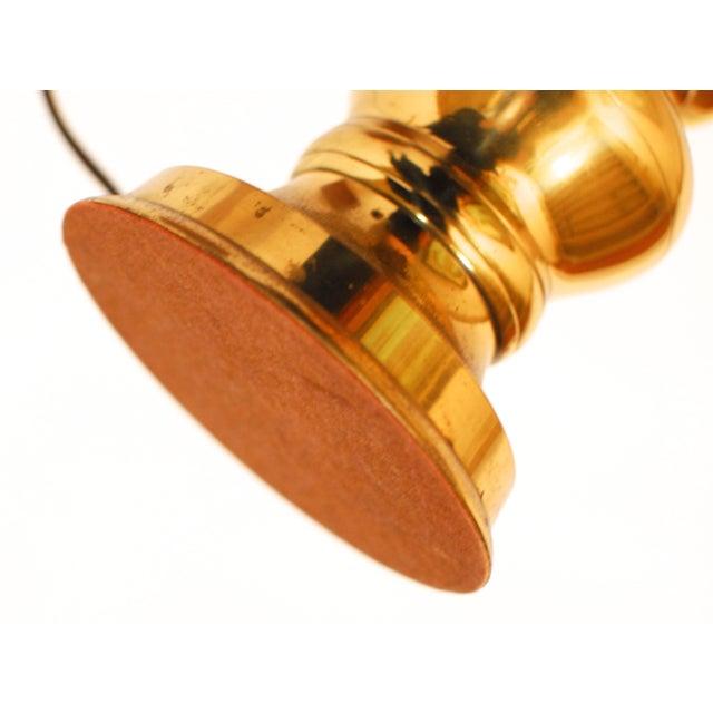 Brass Regency Stiffel Candlestick Lamp - Image 5 of 5