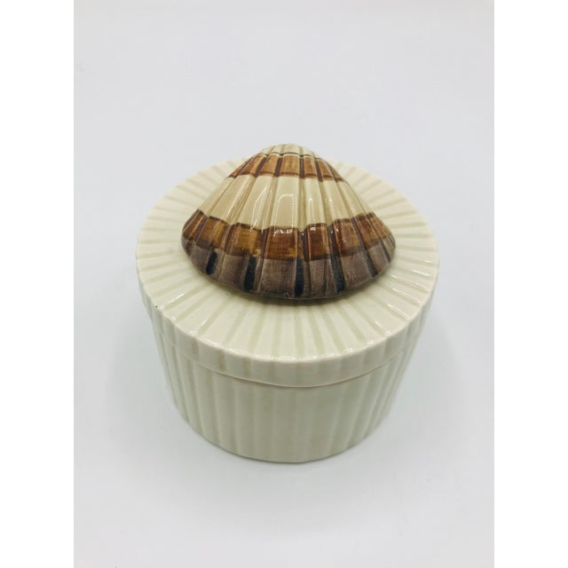 Fitz and Floyd Seashell Lidded Box For Sale In Austin - Image 6 of 7