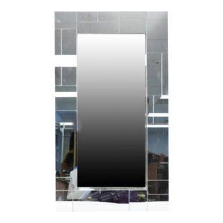 Art Deco Cityscape Mosaic Mirror