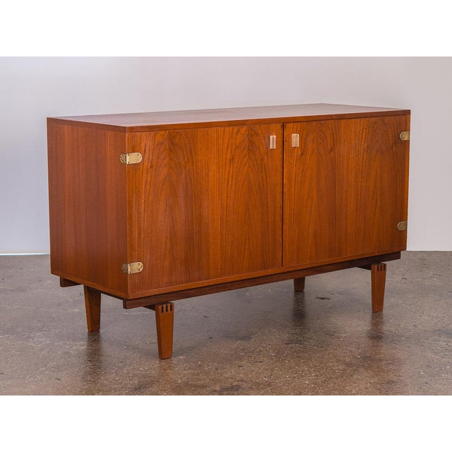 Small Teak Sideboard by Peter Lovig Nielsen For Sale - Image 10 of 10