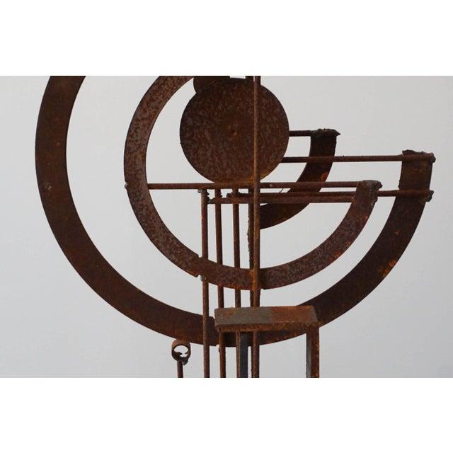Frank Cota Brutalist Sculpture - Image 5 of 7