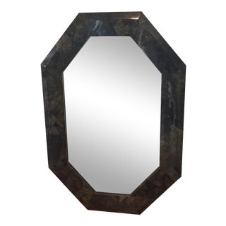 Coconut Shell Mosaic Mirror