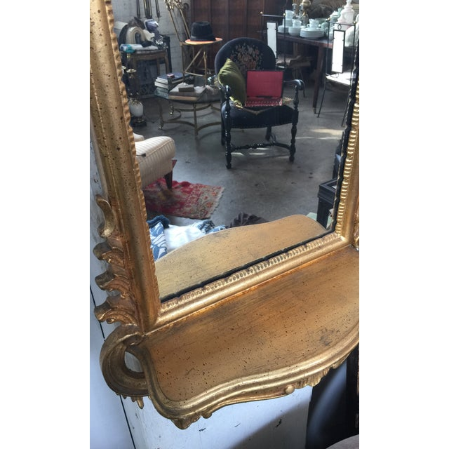Italian Rococo Gilt Tall Mirror by La Barge - Image 10 of 10