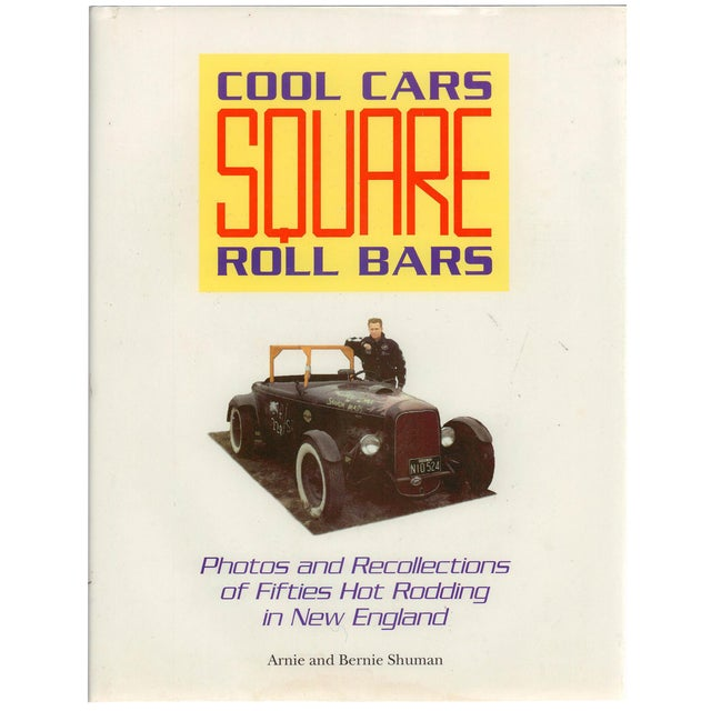 Cool Cars Square Roll Bars, Signed For Sale