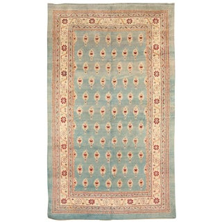 Antique 19th Century Indian Agra Carpet For Sale