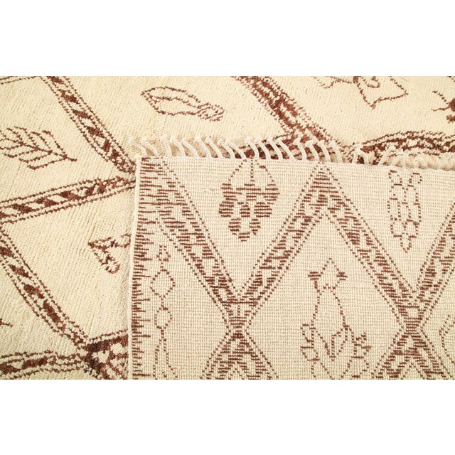 """2010s Bohemian Hand-Knotted Area Rug 8' 1"""" x 10' 4"""" For Sale - Image 5 of 8"""