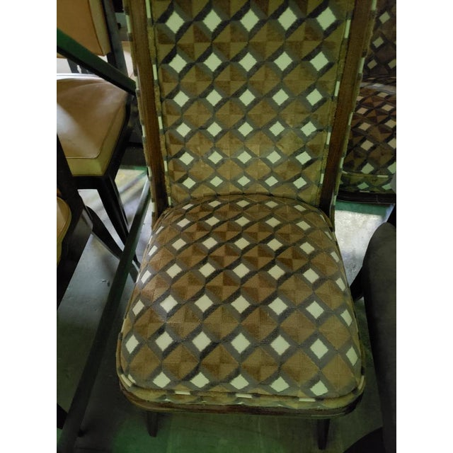 Set of Six Mid-Century Modernist Dining Chairs For Sale - Image 10 of 11