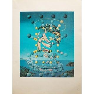 "1957 Salvador Dali ""Assumpta Corpuscularia Lapislazulin""Original Period Photogravure For Sale"