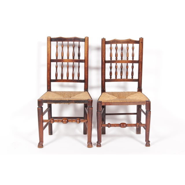 19th-C. Antique English Dining Chairs - Set of 4 - Image 3 of 11