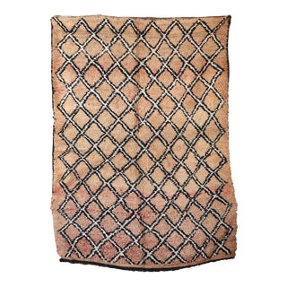 1970s Mid-Century Modern Moroccan Rug For Sale