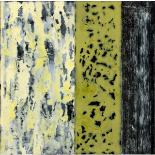 """2010 """"La Piccola/15"""" Abstract Acrylic Painting on Panel by Jerrold Burchman For Sale"""