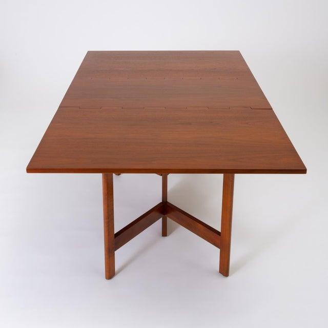 Mid-Century Modern Model 4656 Gateleg Table by George Nelson for Herman Miller For Sale - Image 3 of 13