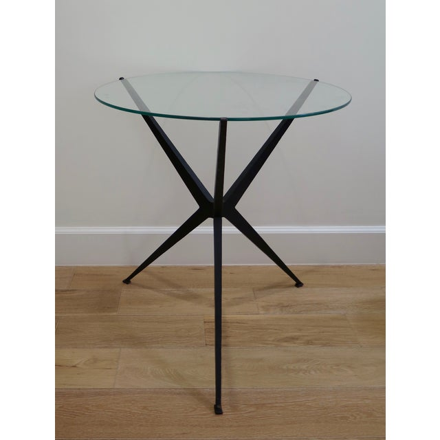 Iron Base Side Table - Image 2 of 3