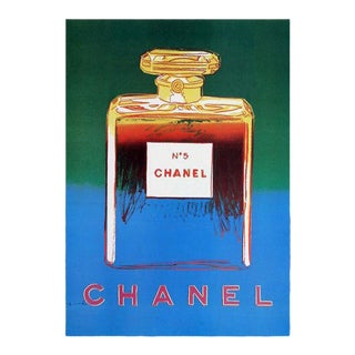 Warhol Chanel No. 5 Poster For Sale