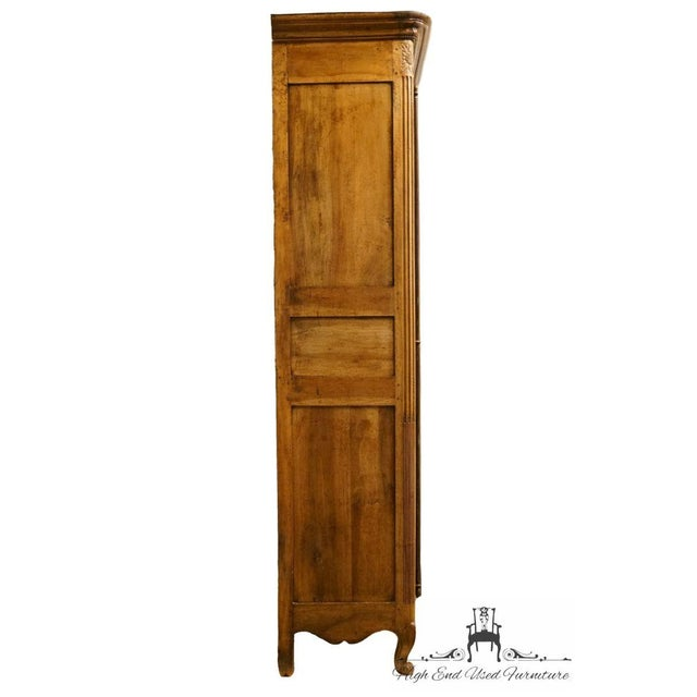 "1800's Louis XVI 66"" Armoire/Wardrobe For Sale - Image 12 of 13"