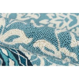 "Madcap Cottage Under a Loggia Rokeby Road Blue Indoor/Outdoor Area Rug 3'9"" X 5'9"" Preview"