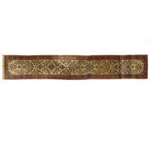 Leon Banilivi Antqiue Persian Kashan - 2′1″ × 14′7 For Sale