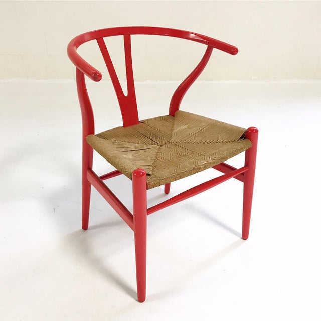 In 1944, Danish designer Hans Wegner began a series of chairs that were inspired by portraits of Danish merchants sitting...