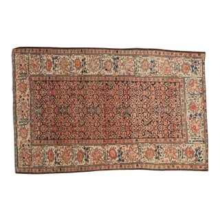 "Antique Farahan Sarouk Rug - 3'5"" X 5'2"" For Sale"