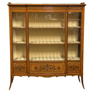 Edwardian Cabinet by Edwards & Roberts For Sale