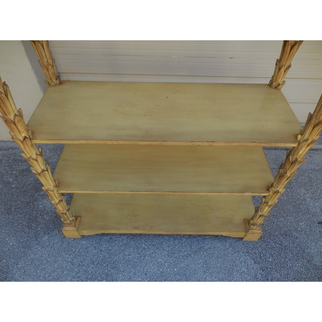 Mid-Century Palm Etagere - Image 4 of 5