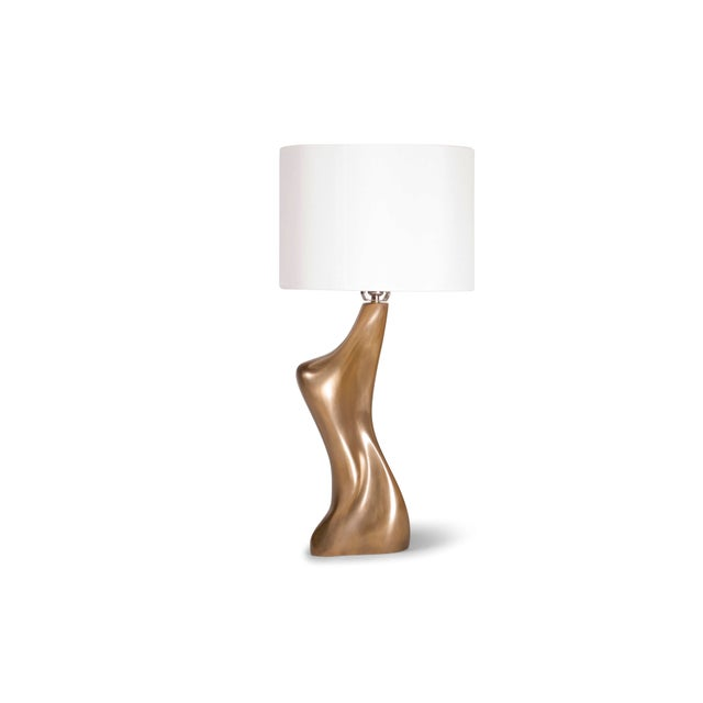 Amorph Helen Table Lamp, Gold Finish For Sale - Image 9 of 9