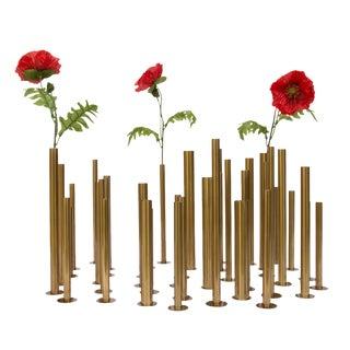 Set of 20 Sculptural Flower Holders For Sale
