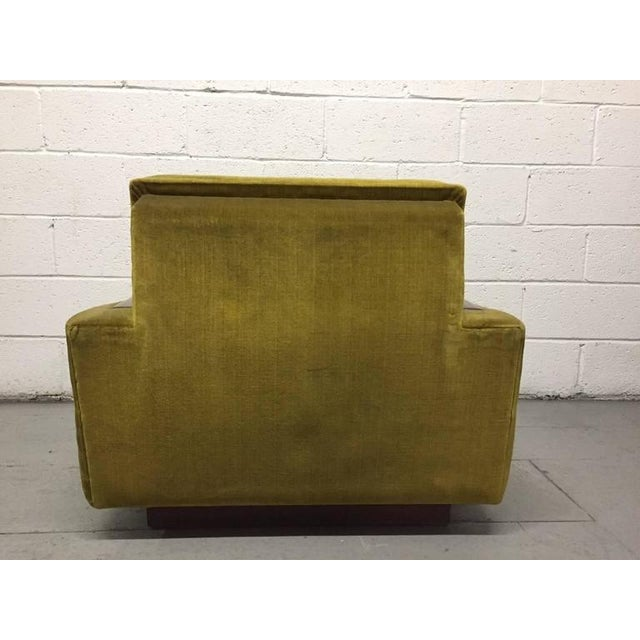 Pair of Jacques Adnet Sculptural Lounge Chairs For Sale - Image 4 of 8
