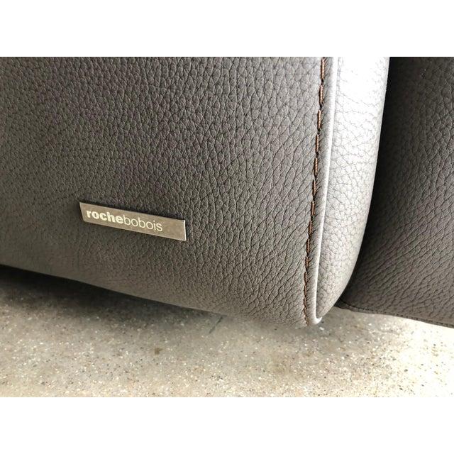 Brown Modern Roche Bobois Blogger Sofa For Sale - Image 8 of 9