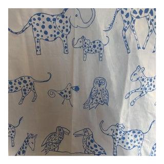 Schumacher Lulu Dk Animal Jungle Fabric