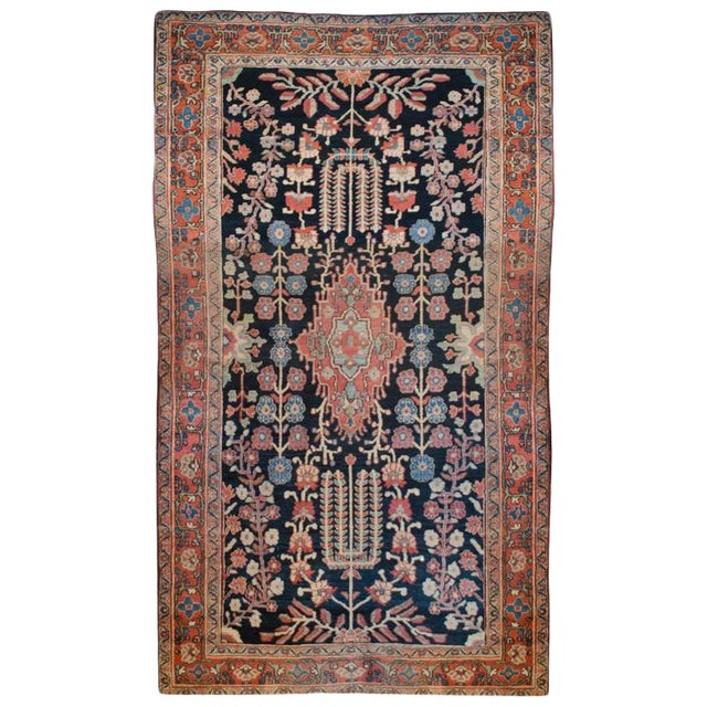 """Early 20th Century Sarouk Rug - 48"""" x 81"""" For Sale"""