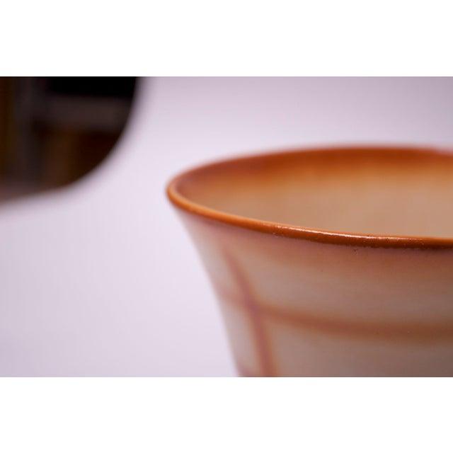 Ceramic Vintage Erphila Bohemian Art Pottery Vase For Sale - Image 7 of 10