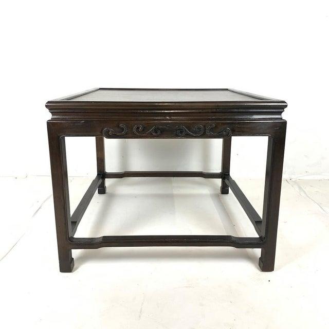 John Widdicomb Pair of Mario Buatta for Widdicomb Asian Chinoiserie Ebonized Nesting Tables For Sale - Image 4 of 13