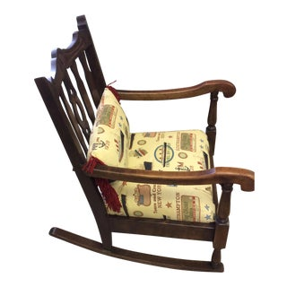 Early 1900s Rocking Chair