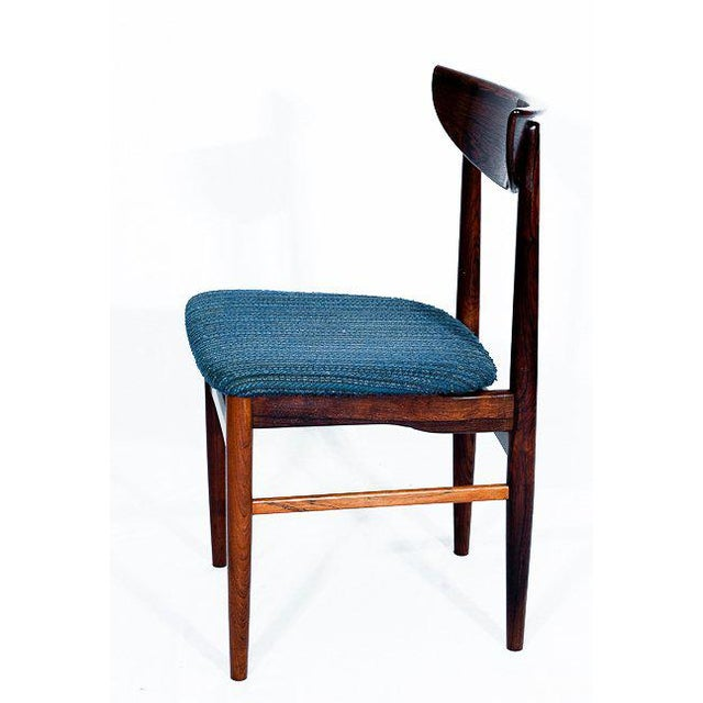 1960s Set Of 4 Rosewood Dining Chairs For Sale - Image 5 of 9
