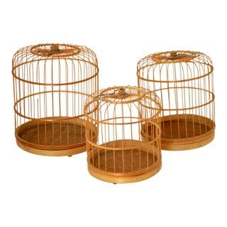 Vintage Bird Cages - Set of 5 For Sale