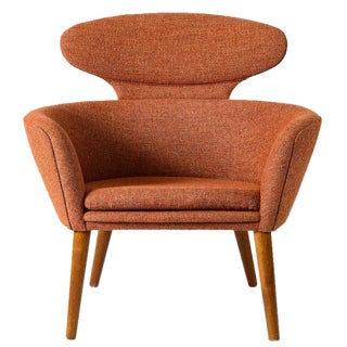 Unusual Danish Lounge Chair For Sale