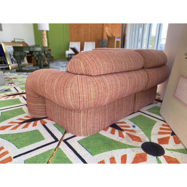 1980s 1980s High Style Sofa For Sale - Image 5 of 11